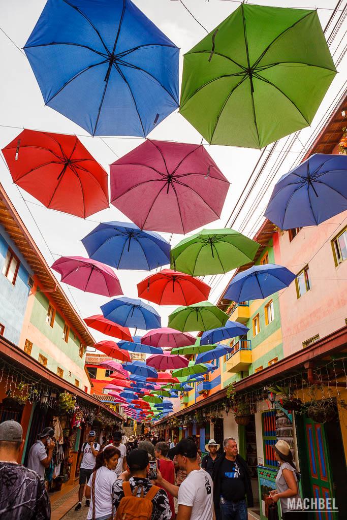 Calle principal de Guatapé
