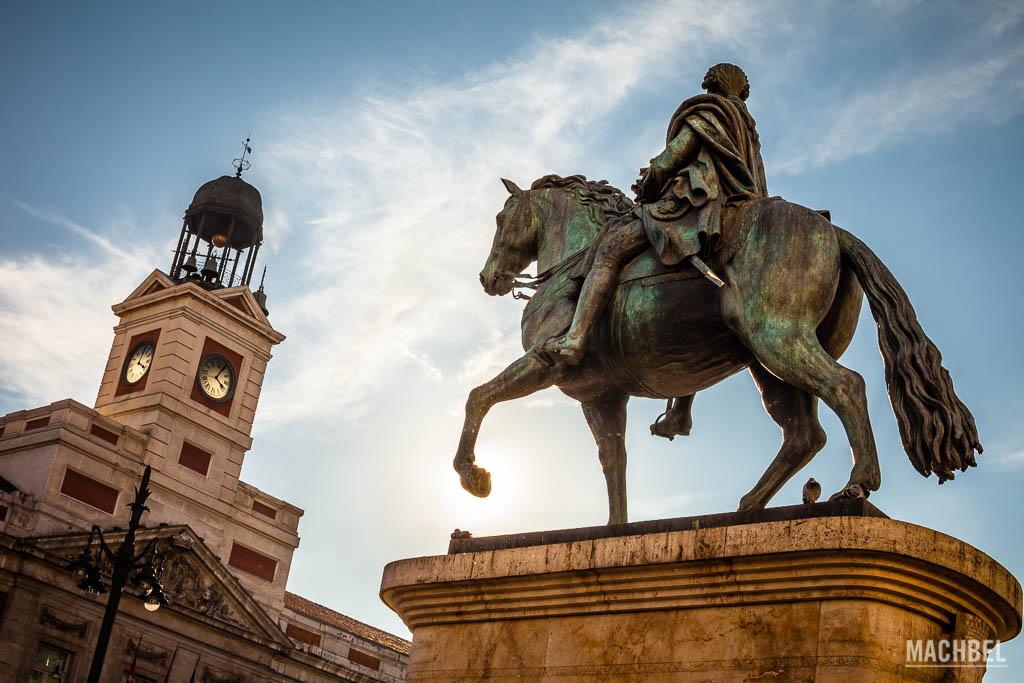 Carlos III y la puerta del Sol