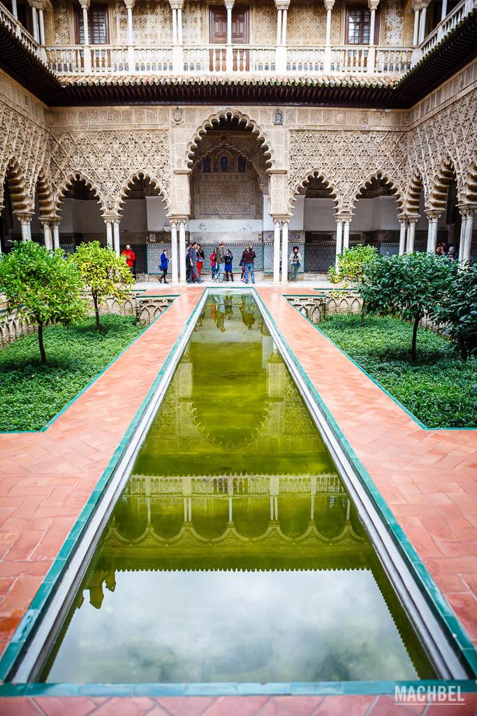 Patio árabe del Real Alcázar