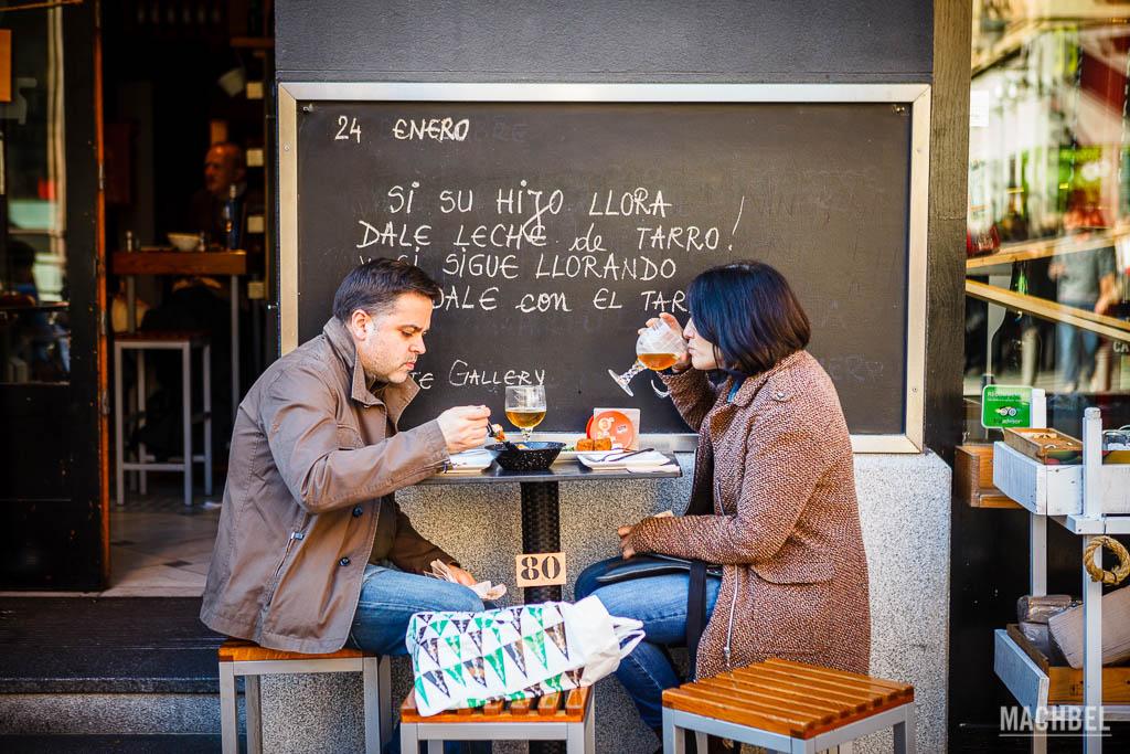 Comiendo de mercado en Madrid