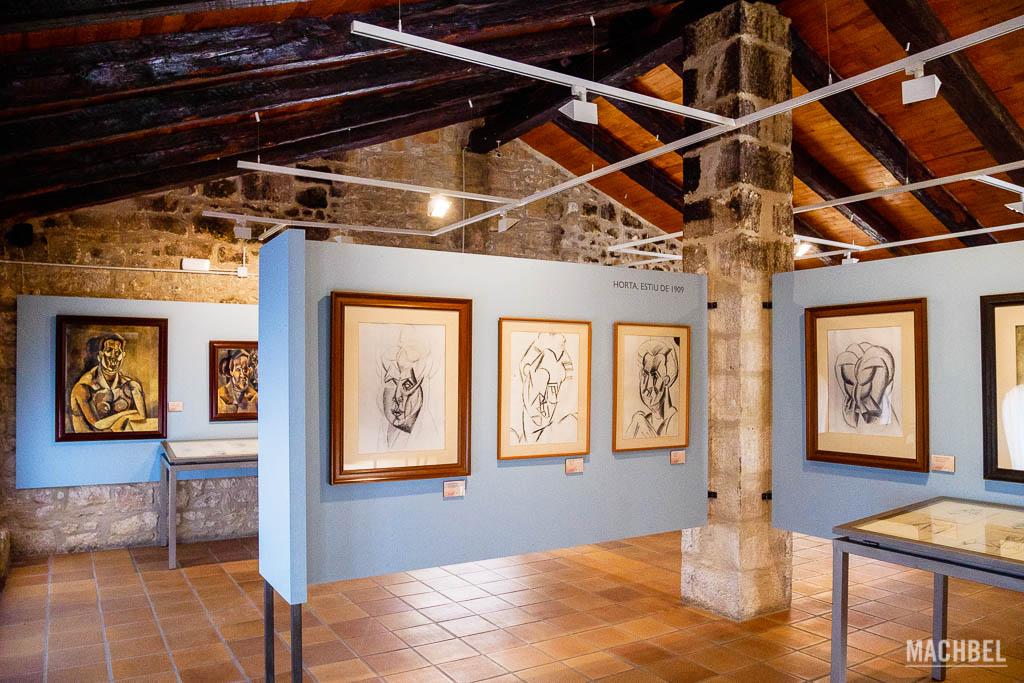 Interior del Centro Picasso de Horta de St Joan
