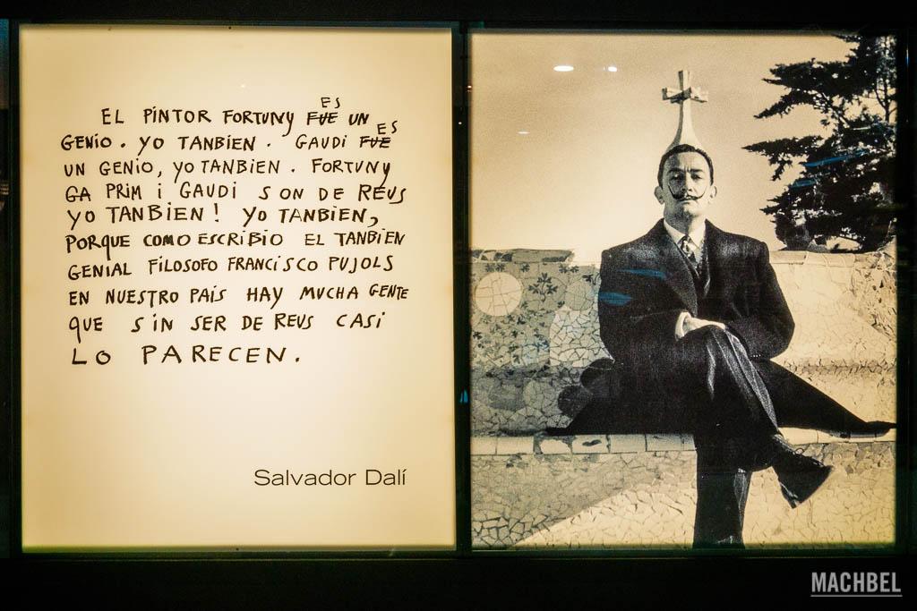 Opinión de Dalí