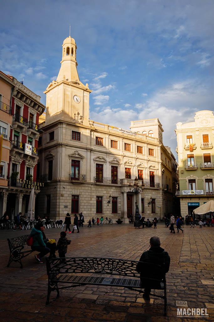 Plaza del Mercadal en Reus