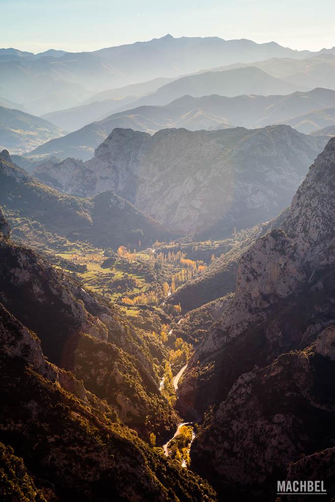 Valle de Liébana desde el mirador de Santa Catalina