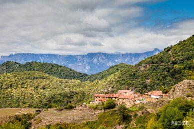 Pueblo de casas rurales en Cantabria