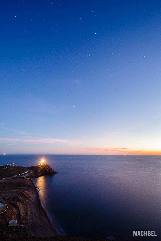 Golfo de Almería de noche