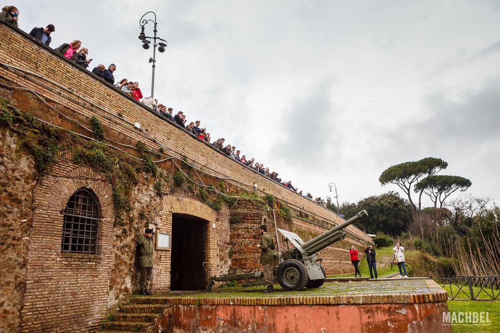 Cañón del Belvedere del Gianicolo