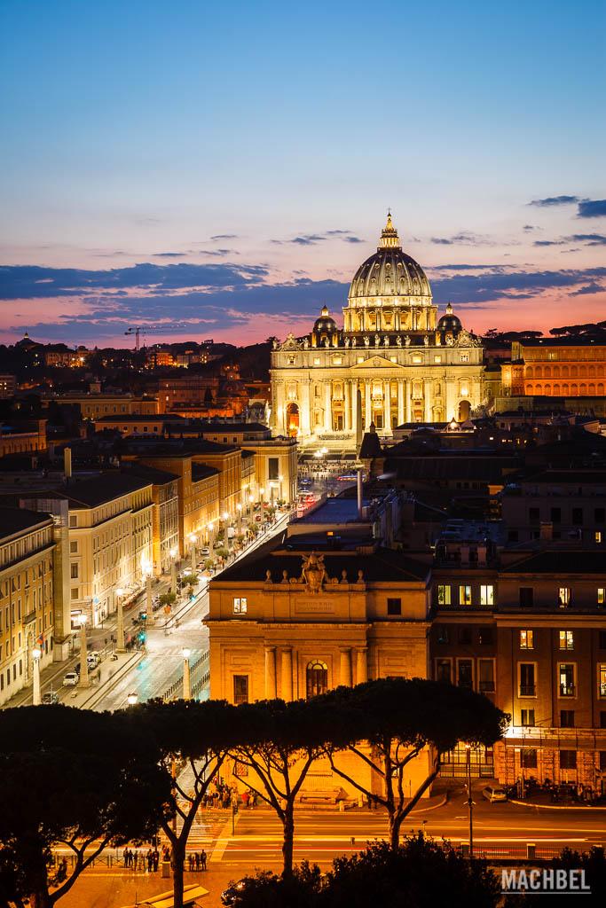 El Vaticano desde el Castillo de San Ángelo