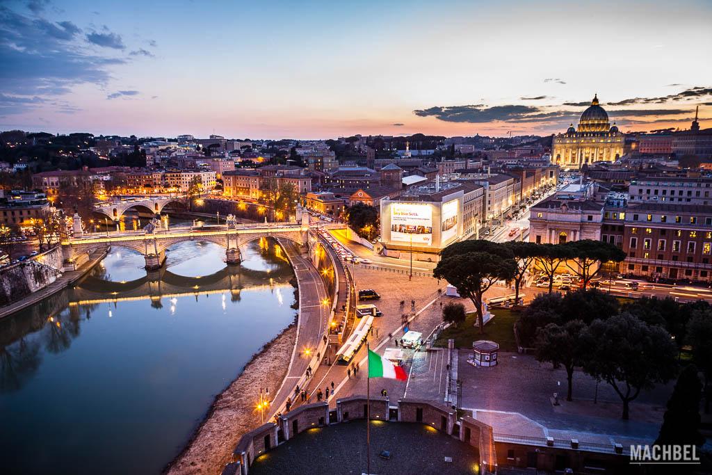 Panorámica de Roma