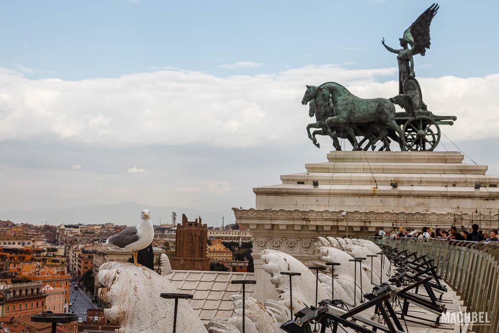 Terraza superior del Monumento a Vittorio Emanuele II