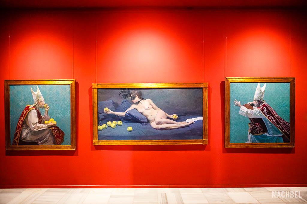 Cuadros del Museo Ibáñez