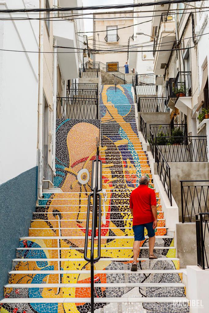 Escaleras artísticas en Macael