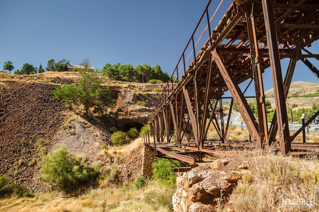 Entrada a una mina de Menas