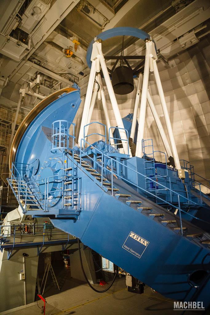 Mayor telescopio del observatorio