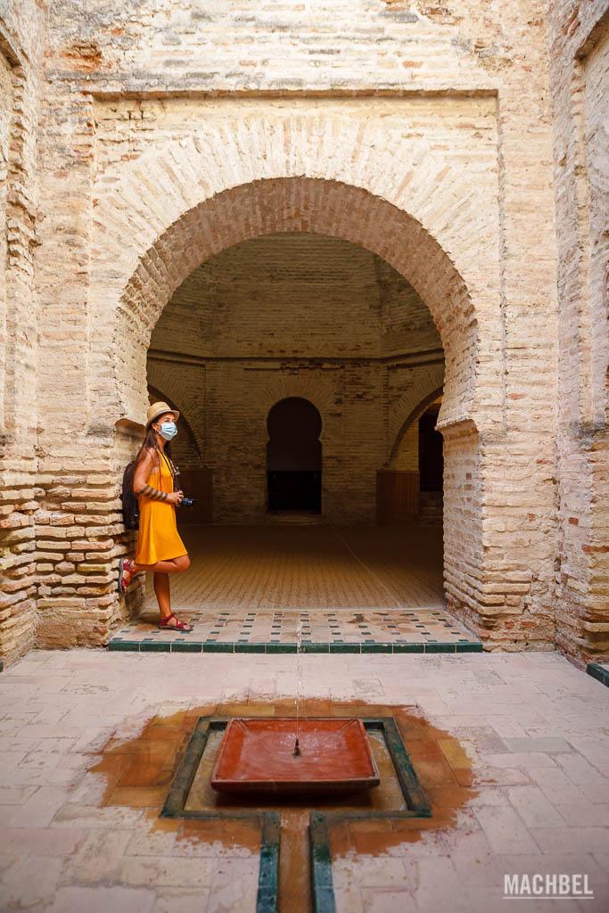 Arcos árabes de la Alcazaba de Jerez de la Frontera