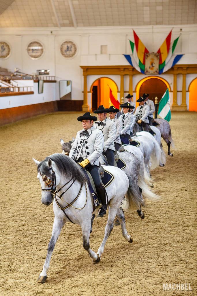 Espectáculo de la Real Escuela Ecuestre de Jerez de la Frontera