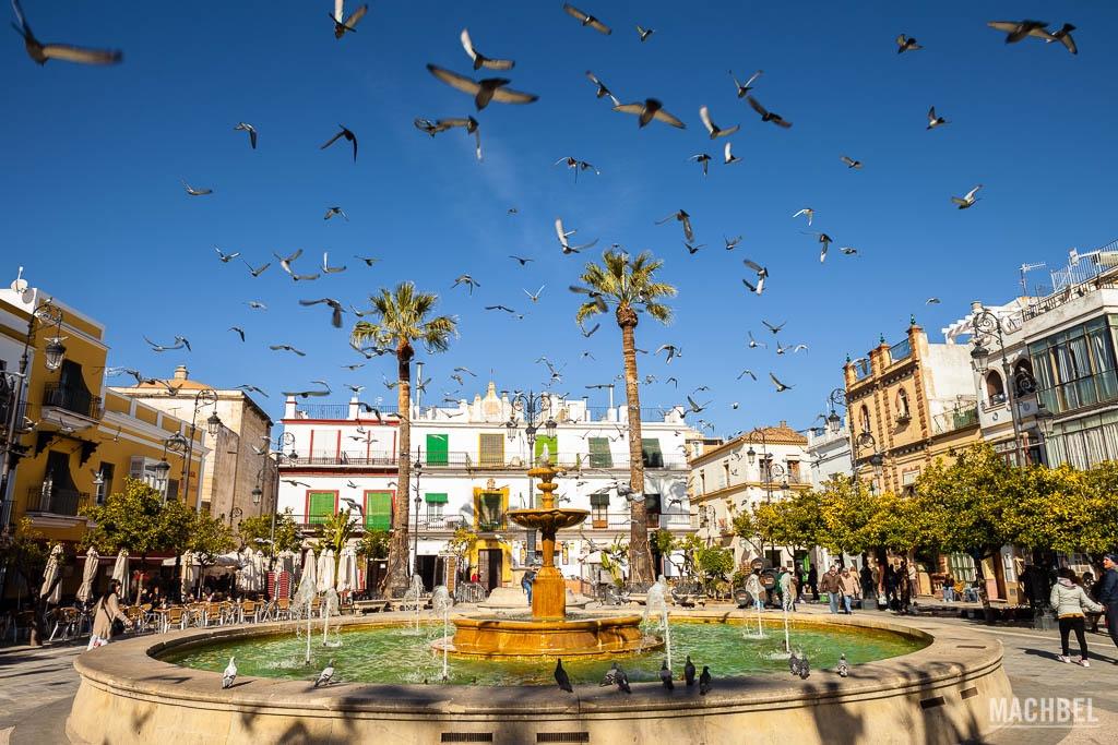 Plaza del Cabildo en Sanlúcar de Barrameda