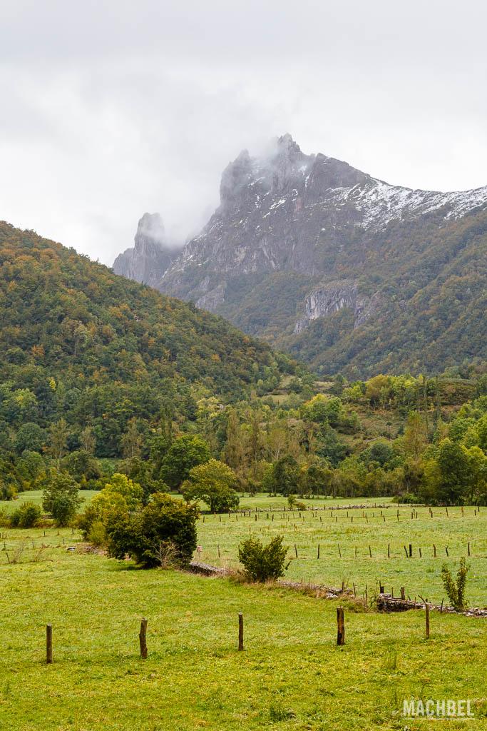 Montañas de Somiedo camino a la Farrapona