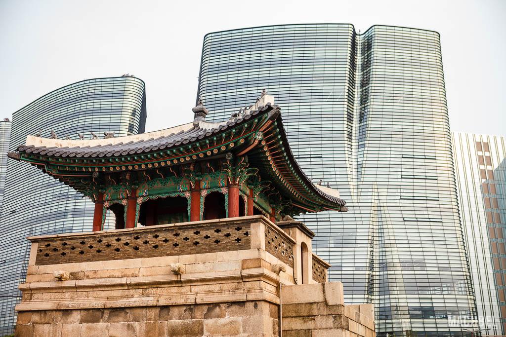Antiguo y nuevo en Corea del Sur