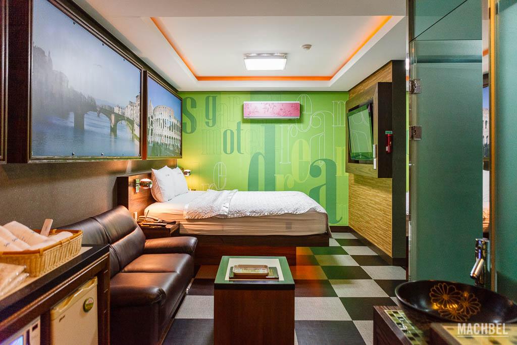 Motel en ciudad turística