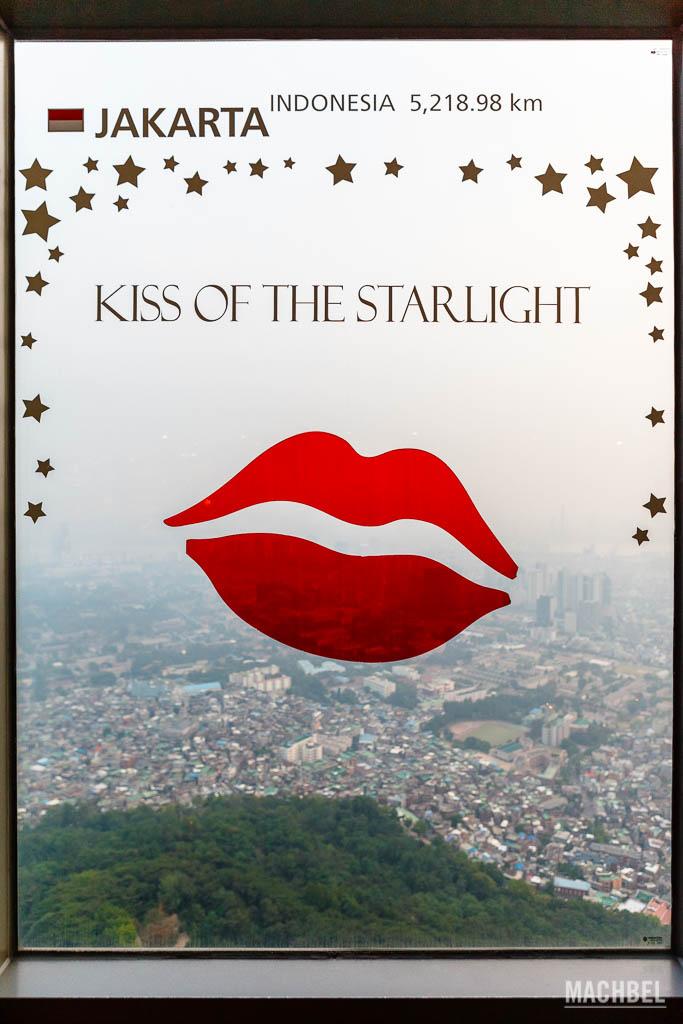 Beso de la Seúl Tower