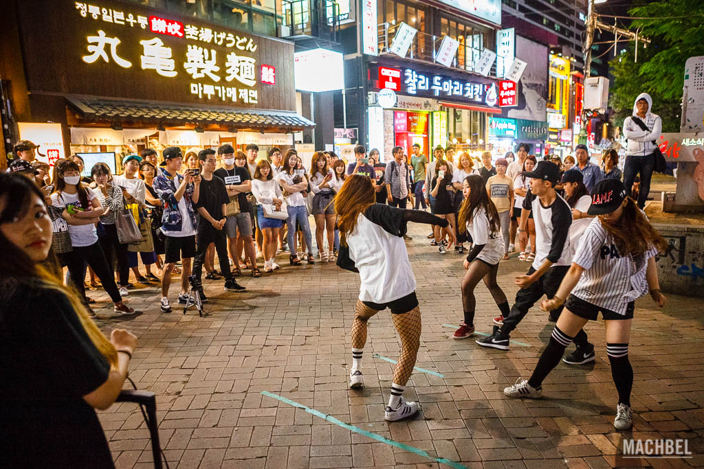 Street Dance en Seúl