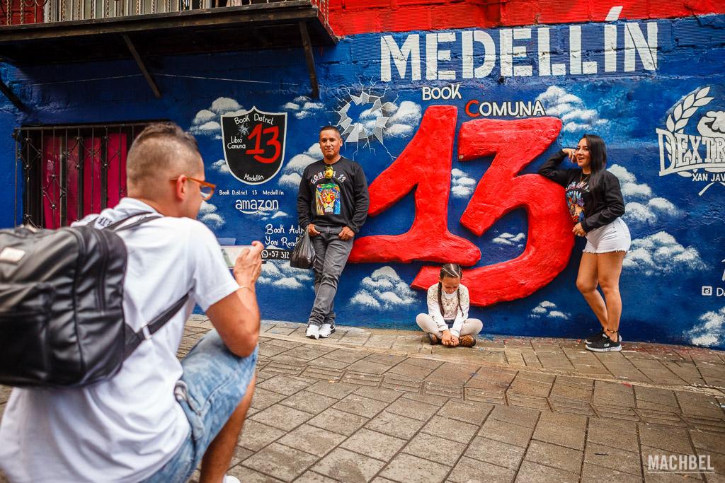 Grafiti en la Comuna 13
