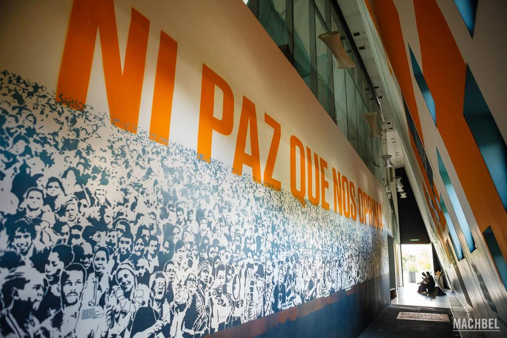 Interior del Museo de la Memoria