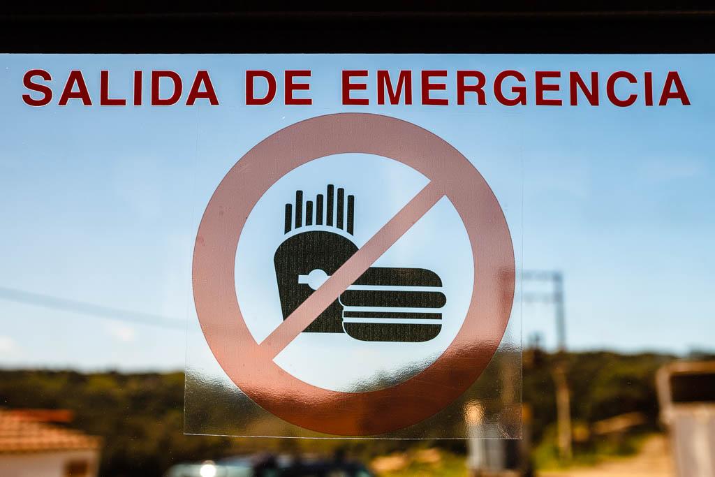 Fast Food ni para emergencias
