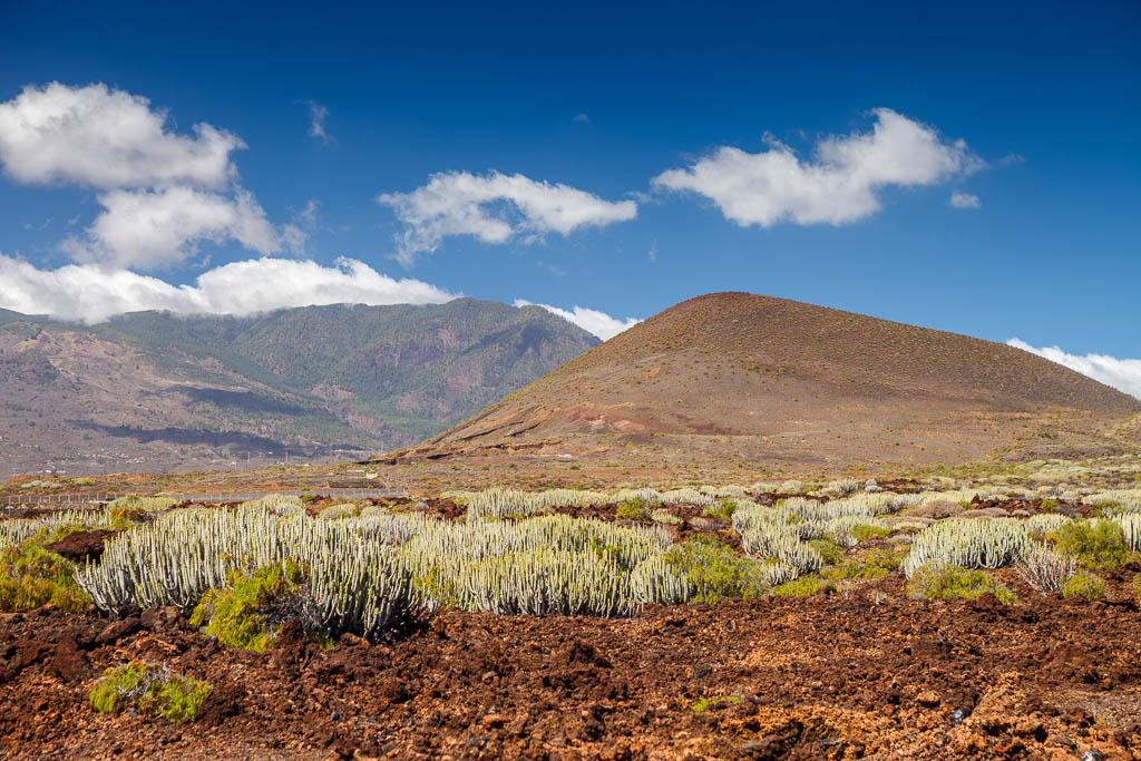 Interior de Tenerife desde el Malpaís de Güimar