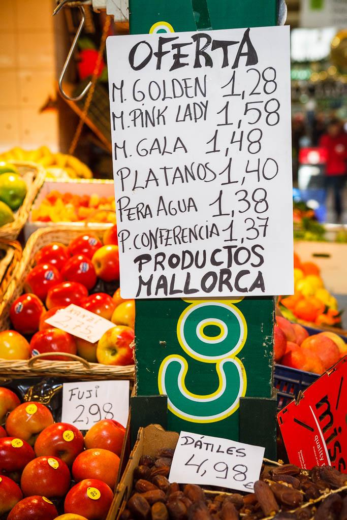 Productos locales de Mallorca