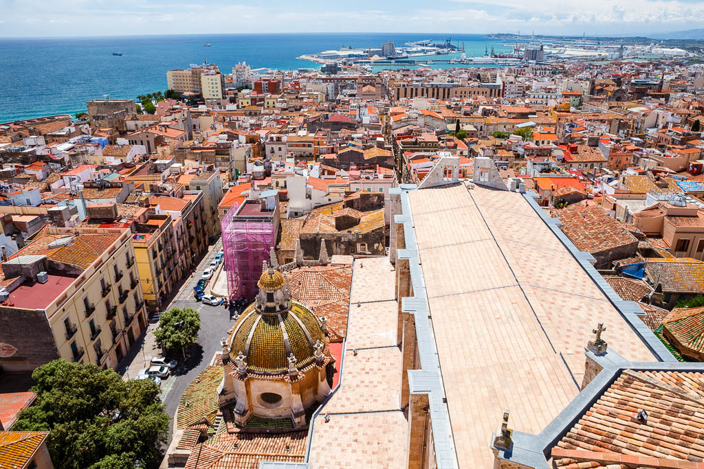 Tarragona y el mar Mediterráneo