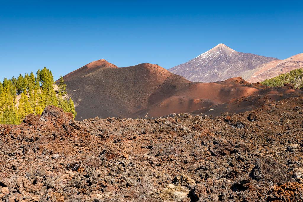 Volcán Chinyero y Teide