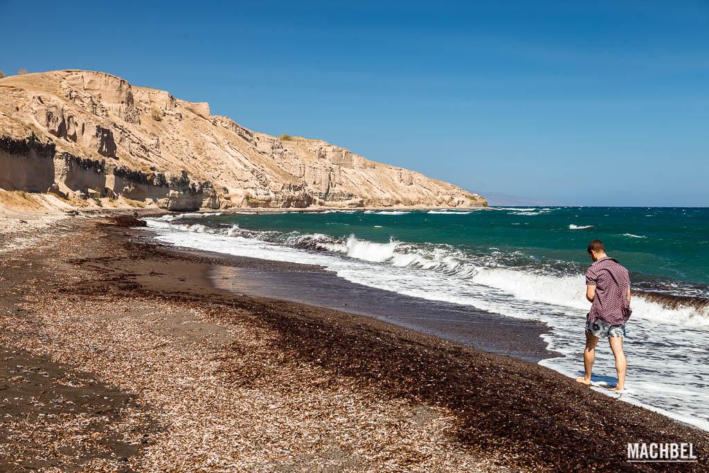 Playa Katharos, Santorini